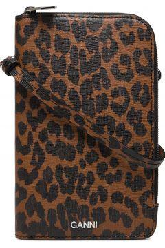 Ph Bag Leather Bags Small Shoulder Bags - Crossbody Bags Braun GANNI(117467353)
