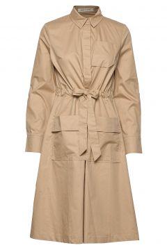 Dress Kleid Knielang Beige SOFIE SCHNOOR(114165474)