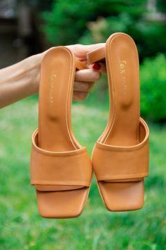 Pantoufles Fox Shoes Tabac(127842826)