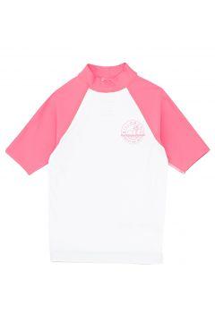 Billabong Arty Short Sleeve Mädchen Rash Vest - White(100262315)