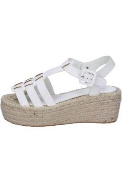Sandales Francescomilano sandales blanc cuir synthétique BS81(115443045)