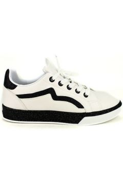 Chaussures Cendriyon Baskets Blanc Chaussures Femme(115425600)