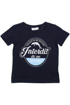 T-shirt enfant Interdit De Me Gronder BLUE(115540492)