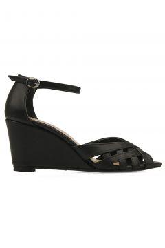 Ziya Punto By Ziya Kadın Topuklu Ayakkabı Sıyah(116831416)