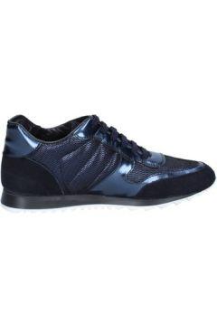 Chaussures Triver Flight sneakers bleu cuir daim BX577(115442587)