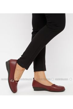 Maroon - Casual - Shoes - Snox(110319004)