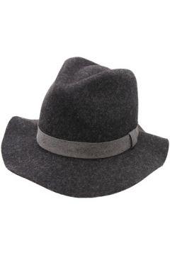 Chapeau Seeberger Chapeau feutre femme Friroc flannelle-gris(88563294)