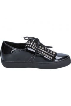 Chaussures Sara Lopez élégantes noir cuir verni BX699(98472741)