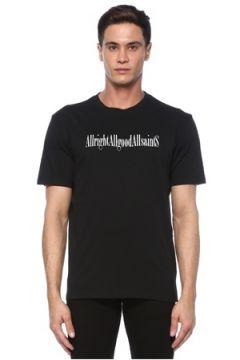 Allsaints Erkek TSHIRT Siyah L EU(117771866)