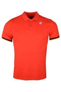 Polo K-Way Polo rouge régular fit pour homme(115401993)