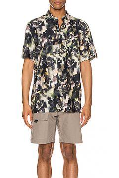 Рубашка с коротким рукавом foliage - Zanerobe(115067845)