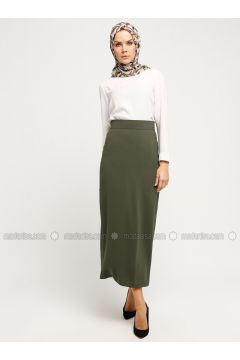 Green - Fully Lined - Skirt - Alesya By Tuğba(110339710)