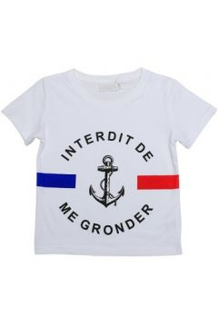T-shirt enfant Interdit De Me Gronder BABORD(115540495)