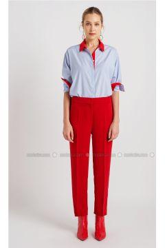 Red - Pants - NG Style(110341190)