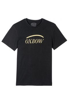 Camiseta de manga corta y logotipo delante(120779234)