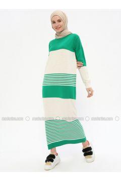 Green - Beige -- Dresses - Zentoni(110323368)