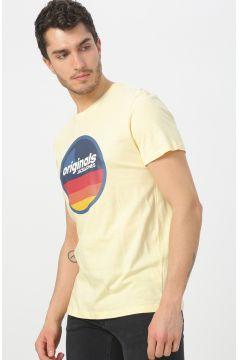 Jack & Jones 12168083 Açk Sarı T-Shirt(113998050)