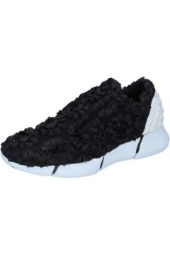 Chaussures Elena Iachi sneakers noir textile AB881(115393877)