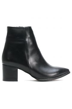 Ayakkabı Modası Siyah Cilt Kadın Bot(110929311)
