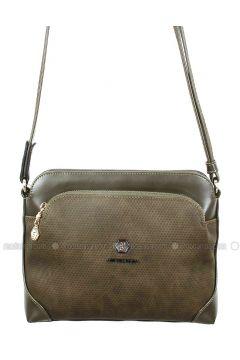 Khaki - Shoulder Bags - Silver Polo(110324397)