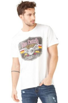 T-shirt Von Dutch T SHIRT GAS BLANC(127912644)
