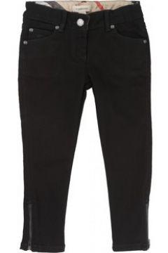Pantalon enfant Burberry Pantalon denim noir(115465952)