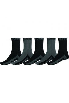 Chaussettes Globe Black/grey crew sock 5pk(127987783)