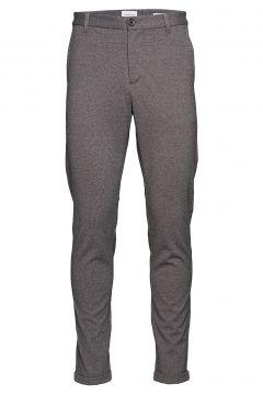 Knitted Pants Normal Length Hosen Casual Alltagshosen Grau LINDBERGH(116667137)