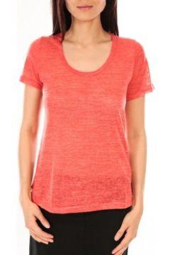 T-shirt By La Vitrine T-Shirt BLV07 Corail(127980838)