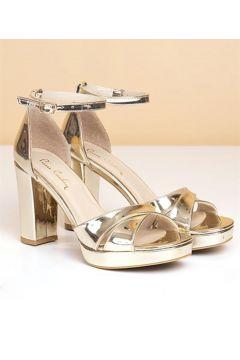 Pierre Cardin Kadın Topuklu Ayakkabı-rugan Altın(113622541)