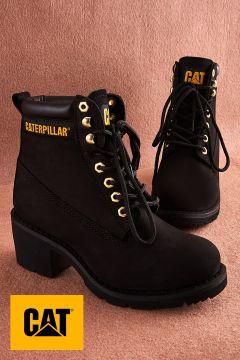 Cat Hakiki Deri Siyah Kadın Bot(108822343)