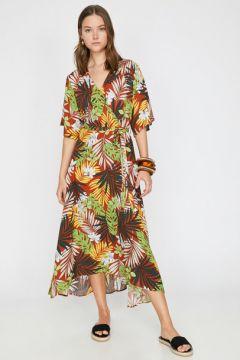 Koton Kadın Desenli Elbise(118031224)