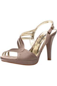 Sandales Calpierre sandales beige satin AG732(115393529)