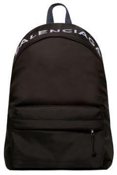 Balenciaga Erkek Whell Mavi Siyah Logolu Sırt Çantası EU(114438231)