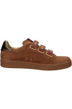 Chaussures Serafini sneakers marron cuir suédé AF862(115395283)