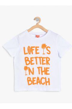 Koton Beyaz T-Shirt(113982851)