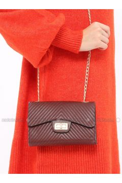 Maroon - Shoulder Bags - ironstone(110327823)