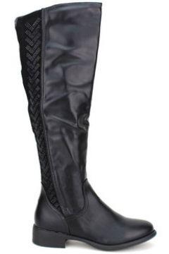 Bottes Cendriyon Bottes Noir Chaussures Femme(115425072)