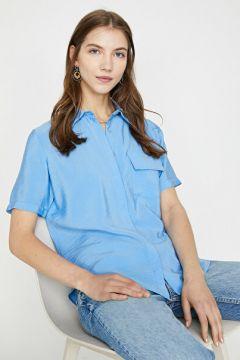 Koton Kadın Cep Detayli Gömlek(126623234)