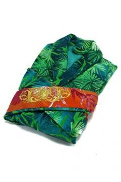 Versace Yeşil Orman Baskılı Unisex Bornoz(121969961)