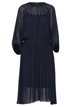 Solrun Kleid Knielang Blau STELLA NOVA(114163294)