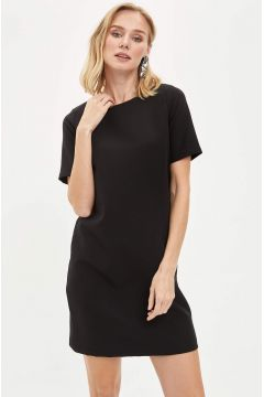 DeFacto Kadın Basic Kısa Kollu Dokuma Elbise(119062177)