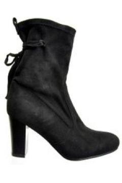 Pantofelek24.pl | Czarne botki w stylu boho(112082496)