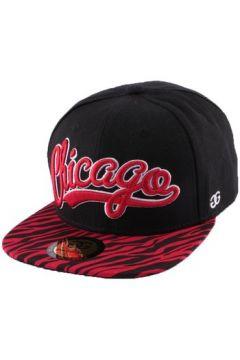 Casquette Coke Boys Snapback Chicago visière zèbre Rouge(98753618)