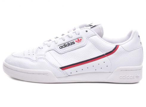 adidas Contınental 80 Unisex Spor Ayakkabı Beyaz(126178837)