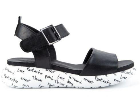 İloz Kadın Siyah Sandalet(113620279)