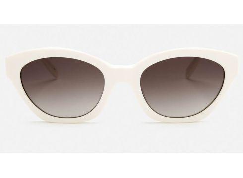 Karl Lagerfeld Women\'s Oval Frame Sunglasses - White(90304559)