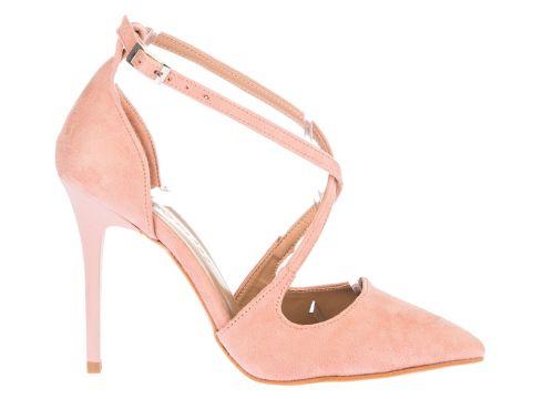 Promiss Pudra Kadın Klasik Topuklu Ayakkabı(119131399)