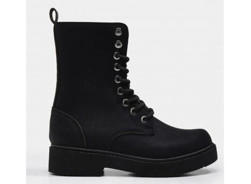 Hotiç Siyah Yaya Kadın Bot&Çizme(124528479)