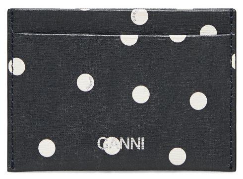 Card Holder Leather Bags Card Holders & Wallets Card Holder Blau GANNI(117467350)